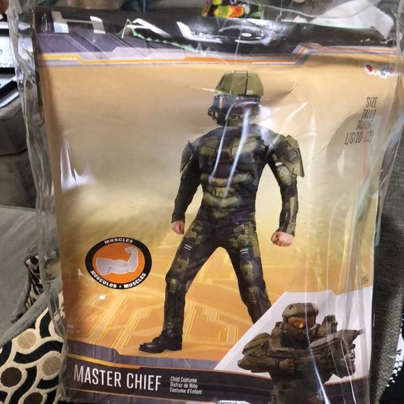 Halo costume (kids L/G(10-12)